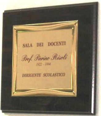 Targa commemorativa www.ungra.it